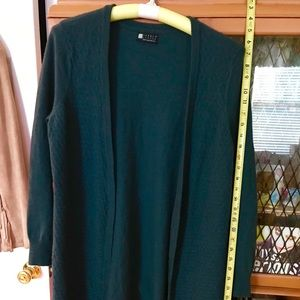 Carole Little Long Cardigan